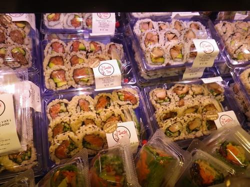 パック寿司の値段