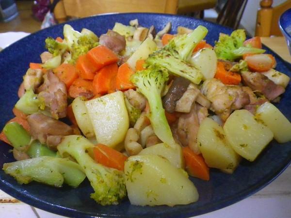 洋風野菜炒め完成