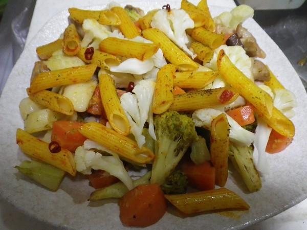 洋風野菜炒め チーズのせ