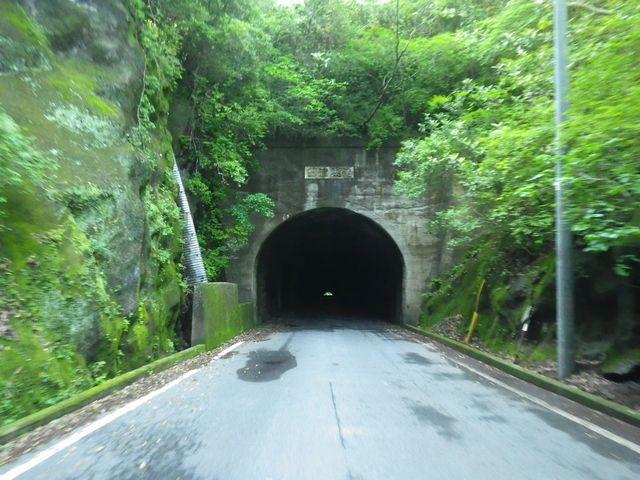 臼津トンネルへ至る