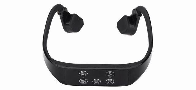 無線 骨伝導 スポーツ ブルートゥース 3.0 ヘッドセット