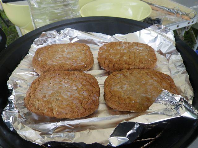 マルシンハンバーグの燻製