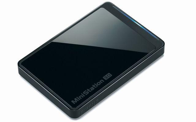 ポータブルハードディスク 1TB HD-PCT1TU3-BBJ