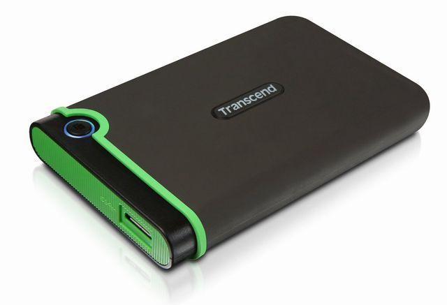 Transcend USB3.0/2.0 2.5インチ ポータブルHDD 耐衝撃 M3シリーズ 1TB