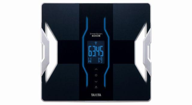 TANITA 【iPhoneに対応・アプリで健康管理】 体組成計 インナースキャンデュアル ブラック RD-901-BK
