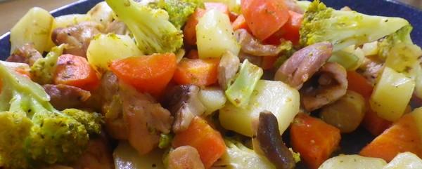 ウチの洋風野菜炒めは朝食に!お弁当に!最後は夕飯に!