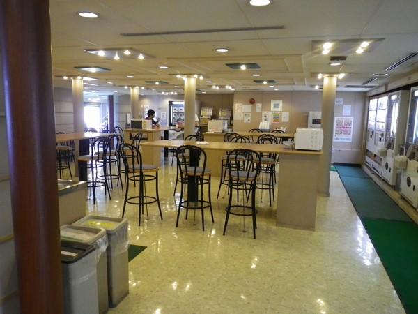 東九フェリーに乗った。食事関連設備を紹介するよ:その2