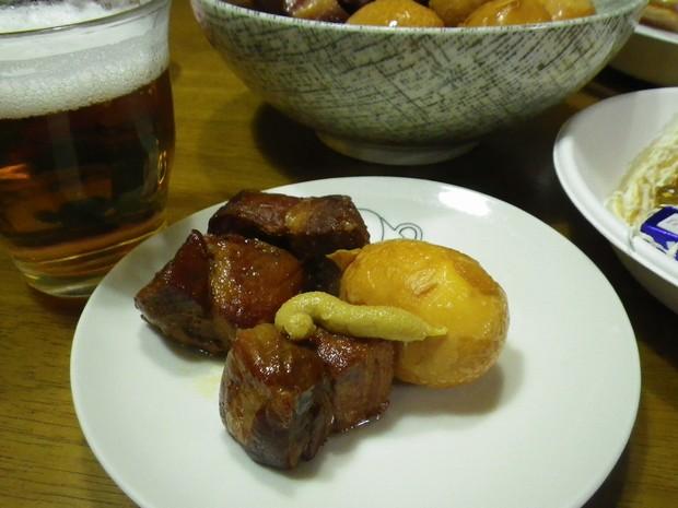 豚の角煮は圧力鍋であっという間にできるよ!