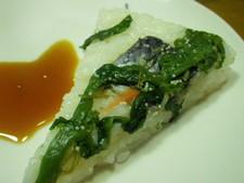 オリジナル押し寿司2:にしん漬けとマグロ漬け
