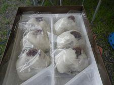 かどやのうすかわまんじゅうは上品な甘さだよー【和歌山県白浜町】