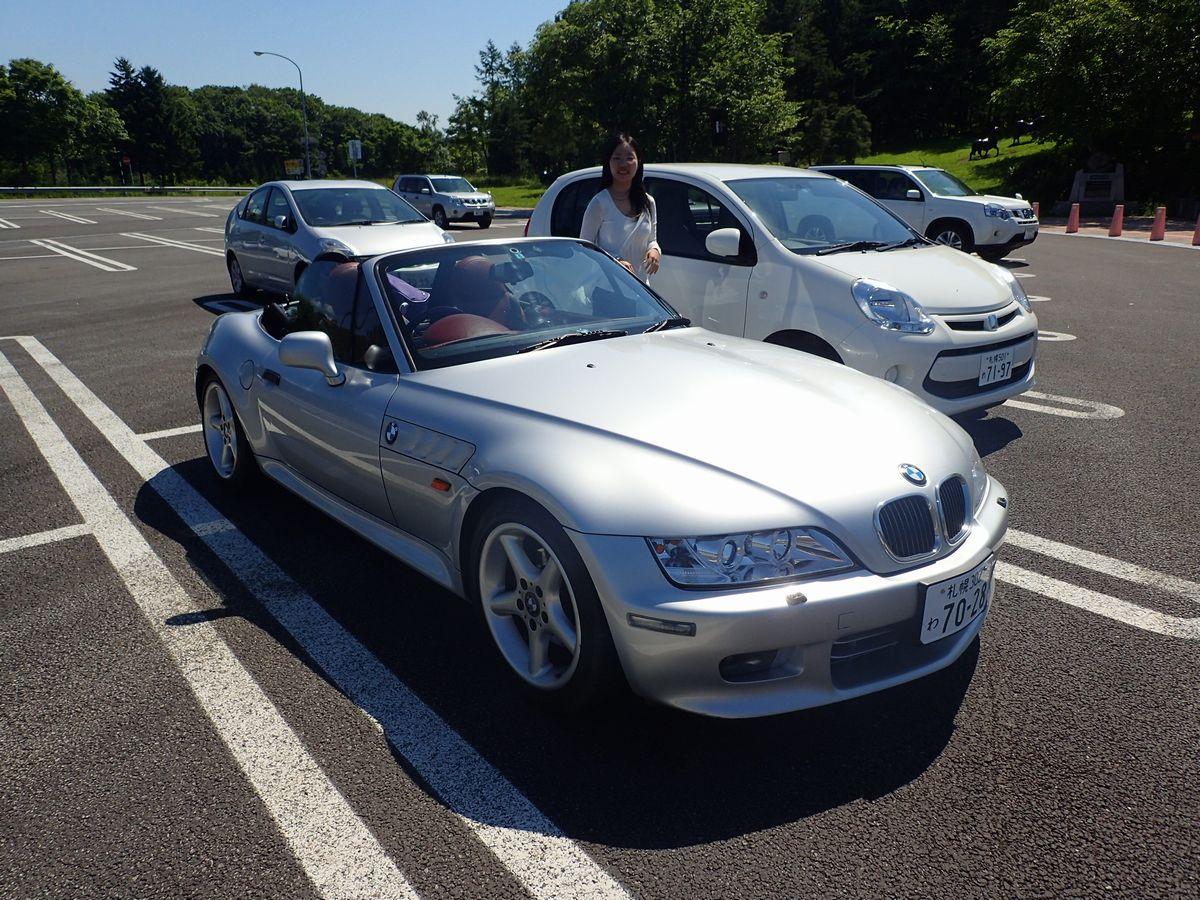 ビートルカブリオレレンタル予定がBMW Z3になってしまった 【BMW Z3ってどうよ?】