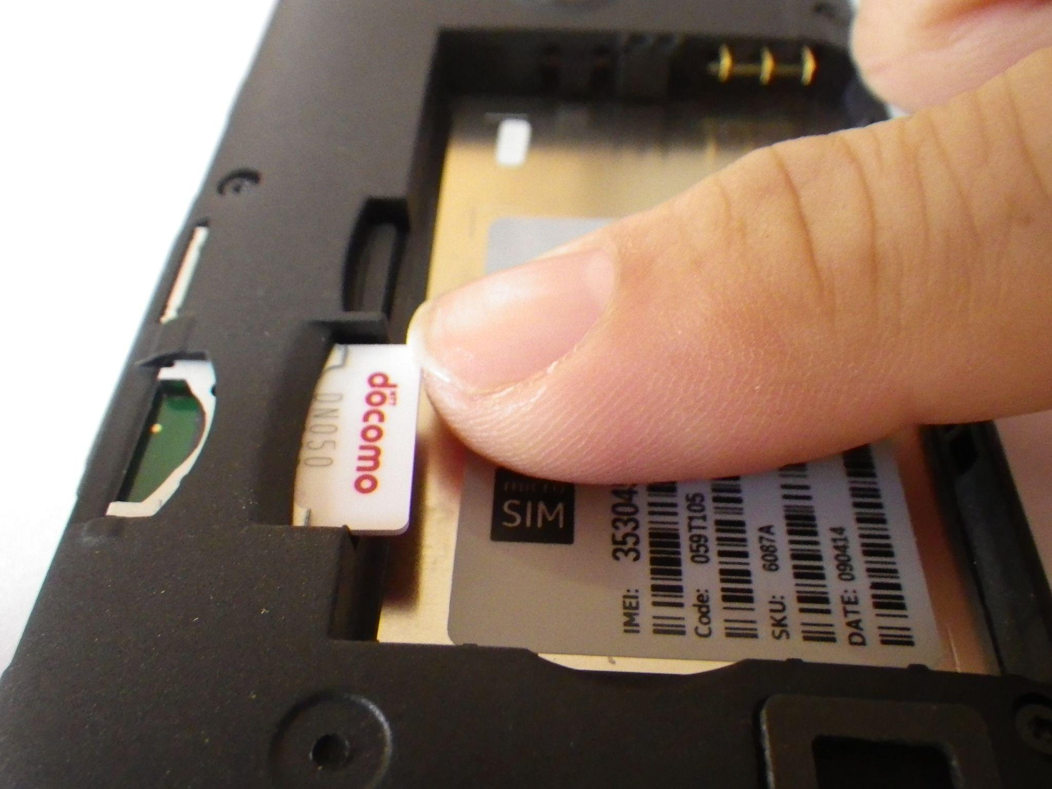 ノキア Lumia 520:SIMを入れて設定する【通話・ネットに接続・テザリング】