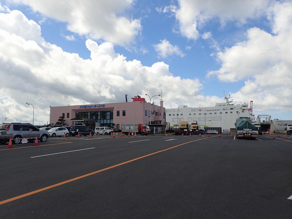 八戸港フェリーターミナルに到着したのでレポート【東北の北の玄関口・野宿できるか?】