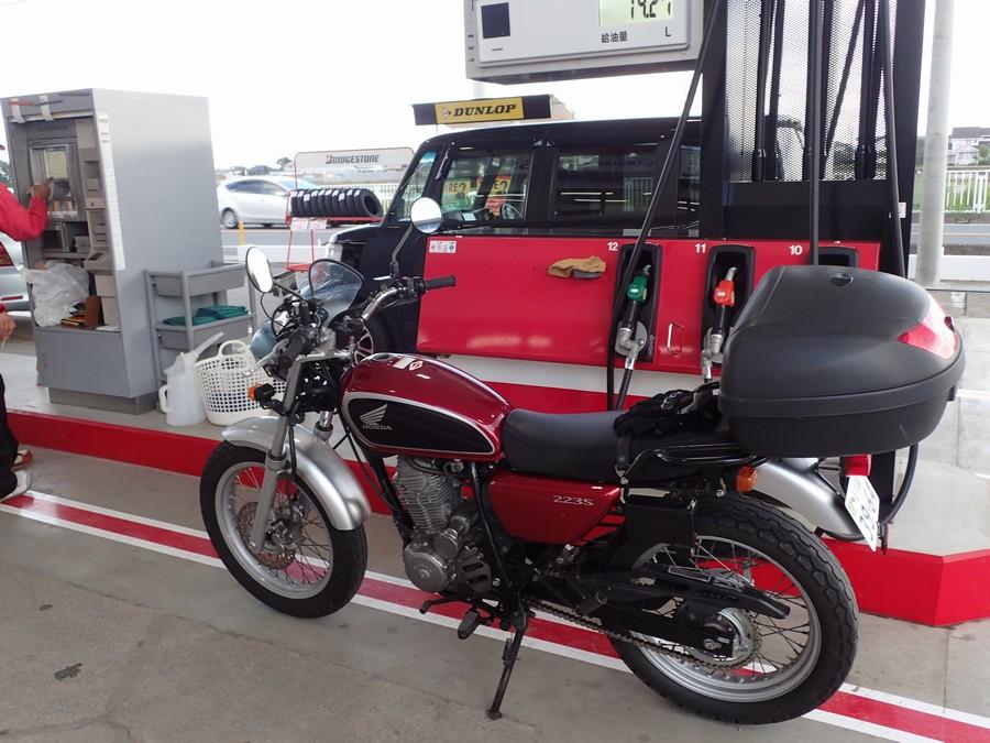 CB223Sの燃費は安定のリッター36.7km/Lと優秀!