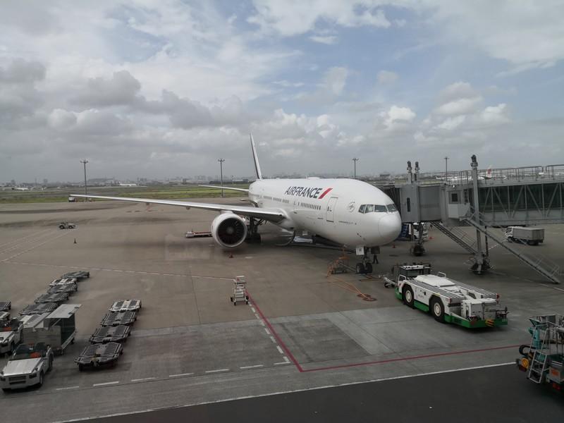 エールフランスAF279パリ行で成田を出発【空港/機内のすごし方】