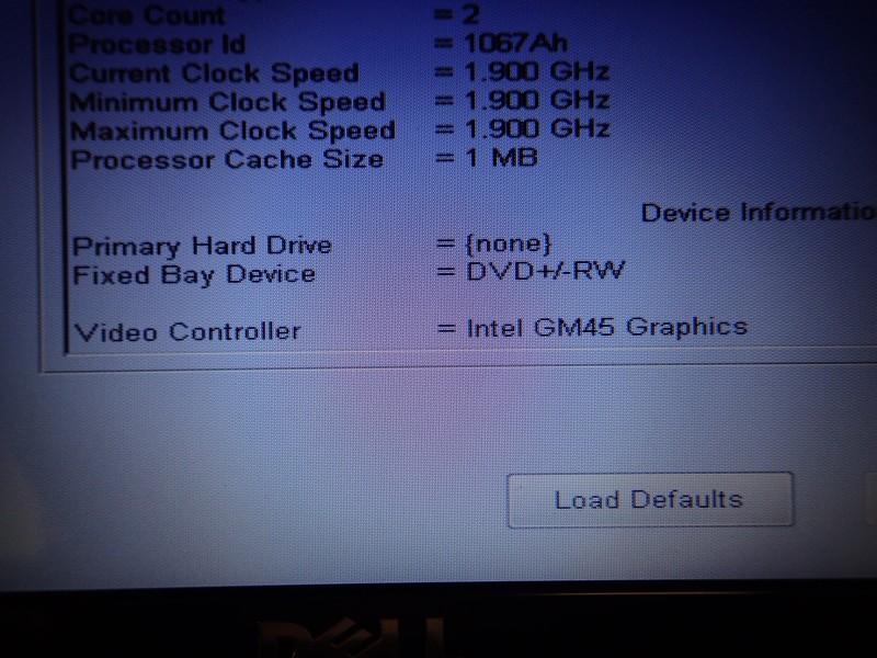 DELL デルPC「インスパイロン」で新品SSDが認識しない時の対処法
