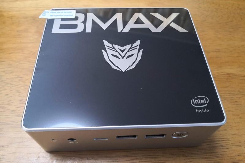 Bmax B2 Plus ミニPC実機レビュー Celeron/8GB/128GB/Win10