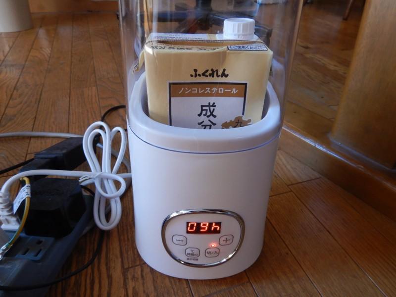 豆乳ヨーグルト作りたい【ヨーグルトメーカー】レビュー